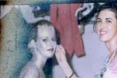 Maquillando con plata